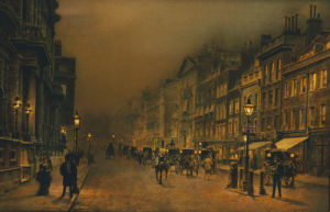 St James's Street by John Atkinson Grimshaw