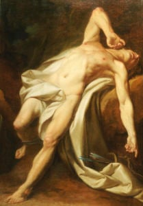 Saint Sebastian by Nicolas Guy Brenet