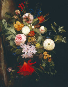 A Basket With Flowers by Laura Margarethen Wittusen