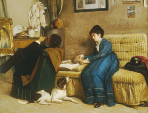 In The Studio by Giovanni Costa