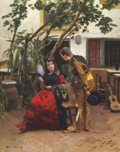 The Suitor by Jules Worms