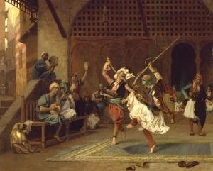 La Danse Pyrrhique, 1885 by Jean-Leon Gerome