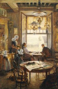 In The Café by Lieven Herremans