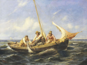 Caught!, 1857 by Niels Simonsen
