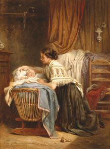 Her Pride And Joy, 1866 by Leon-Emile Caille