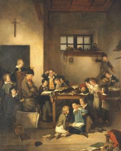 The Sleeping Teacher by Joseph Beaume