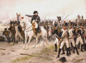 Napoleon At The Battle Of Friedland by Edouard-Bernard-Debat Ponsan