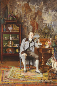 The Connoisseur by Johann Hamza