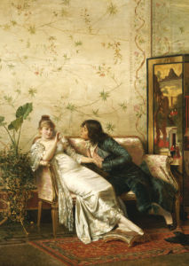 An Amorous Advance by Joseph Frederic Charles Soulacroix