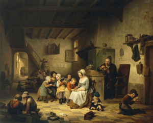 The School Room, 1847 by Basile de Loose