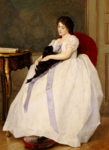 The Confidante by Gustave de Jonghe