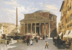 The Pantheon, Rome by Veronika Mario Herwegen-Manini