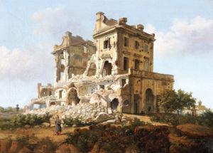 Villa Del Vascello, Al Gianicolo, Roma. by French School