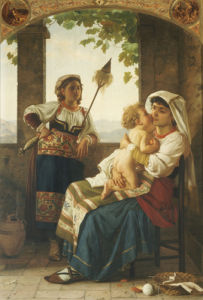 Maternal Love by August Weckesser