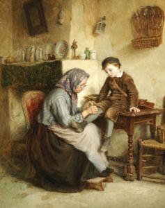 Worn Through by Pierre Edouardo Frere