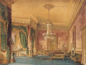 A Regency Interior, 1819 by Robert Hughes