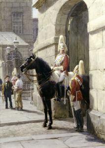 Horseguards, Whitehall by Otto Eerelman
