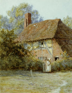 Near Westerham, Kent by Helen Allingham