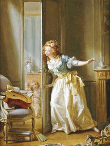 Hide And Seek, 1788 by Michel Garnier