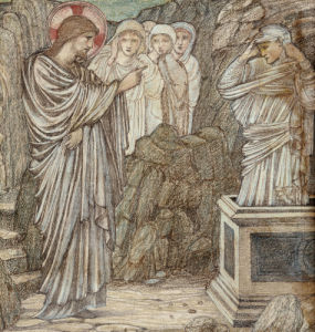 The Raising Of Lazarus by Sir Edward Burne-Jones