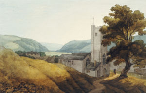 From The Churchyard At Dulverton, Somerset by John White Abbott