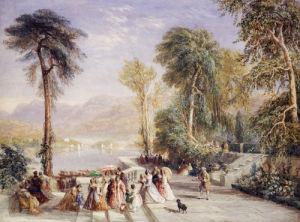 Windermere During The Regatta, 1832 by David Cox