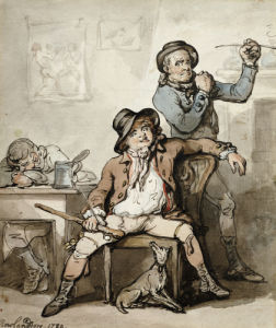 A Brace Of Blackguards, 1789 by Thomas Rowlandson