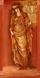Sibylla Tiburtina, 1877 by Sir Edward Burne-Jones