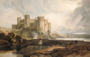 Conway Castle, C. 1802 by Joseph Mallord William Turner