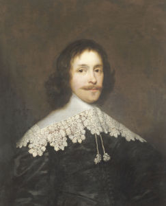 Portrait Of A Gentleman by Cornelius Johnson