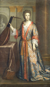 Portrait Of Henrietta Auverquerque, Countess Of Grantham by Thomas Murray
