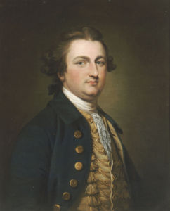 Portrait Of A Gentleman, Half-Length, In A Blue Coat by Francis Cotes