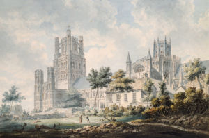 Ely Cathedral From The South-East by Edward Dayes