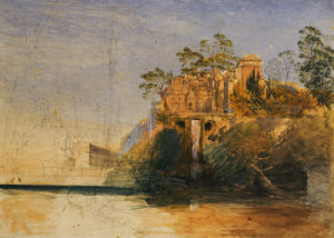 The Water-Organ, Tivoli by Samuel Palmer