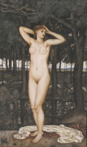Diana At The Bath, 1872 by Walter Crane
