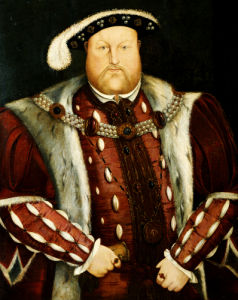 Portrait Of King Henry VIII by After Hans Holbein the Younger