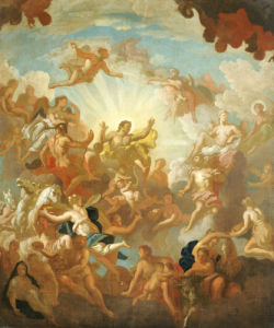 Prometheus Stealing Fire From The Gods by Sir James Thornhill