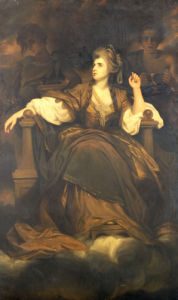 Mrs. Siddons As 'The Tragic Muse' by Sir Joshua Reynolds