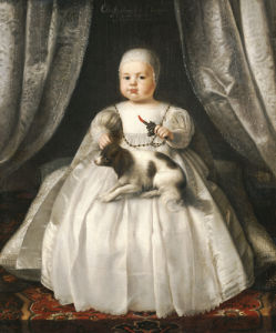 Portrait Of King Charles II As A Child by French School