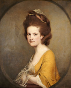 Portrait Of Dorothy Hodges (1752-1800) by Joseph Wright Of Derby
