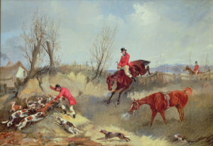 The Kill by Henry Alken
