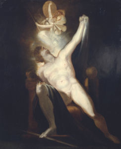 The Birth Of Sin by Johann Heinrich Fuseli