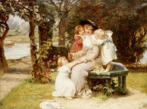 Me Too, Circa 1901 by Frederick Morgan