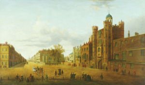 A View Of St James's Palace, Looking Beyond Down Pall Mall by John Paul