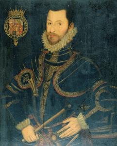 Portrait Of Robert Devereux (1566-1601), 2nd Earl Of Essex by Sir William Segar