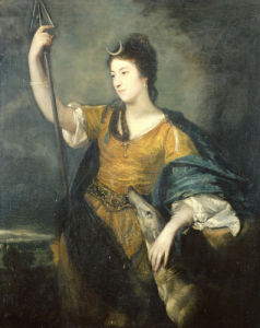 Portrait Of Lady Anne Dawson, 1753 by Sir Joshua Reynolds