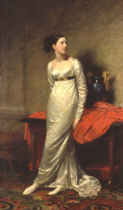 Portrait Of Mrs White (Nee Watford), 1809 by George Dawe