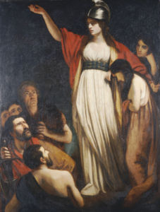 Boadicea Haranguing The Britons by John Opie
