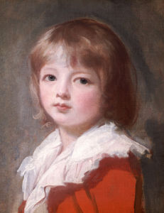 Portrait Of A Boy by George Romney