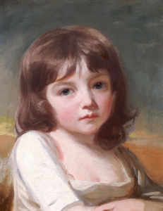 Portrait Of A Girl by George Romney